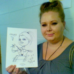 Hanah's caricature