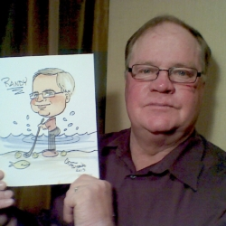 Randy caricature